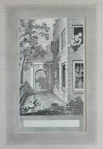 Illustratie bij 'De weduw' uit de Fabelen en vertelsels van F.C. Gellert