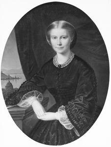 Portret van Marie Sophie van Westrenen (1839-1882)