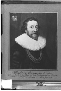 Portret van Albrecht van Beyeren van Schagen (1577-1638)