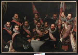 Officieren van de Kloveniersdoelen, Haarlem 1618