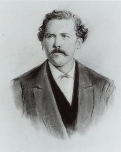 Portret van Hendrik Salm (1840-1903)
