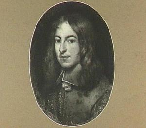 Portretminiatuur van Jan Bernard Schaep (1633-1666), schepen van Amsterdam, raad ter Admiraliteit van het Noorderkwartier
