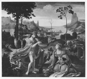 Christus als hovenier en Maria Magdalena