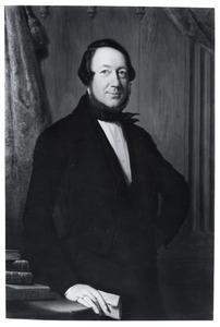 Portret van Johan Carel Willem Fabricius (1795-1881)