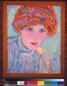 Portret van Greet van Cooten (1885-1967)