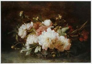 Bloemen in een mand