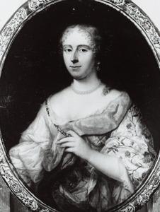 Portret van Anna Gijsberti (1642-1703)