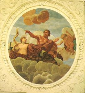 Hera en Zeus, als heersers van de Hemel