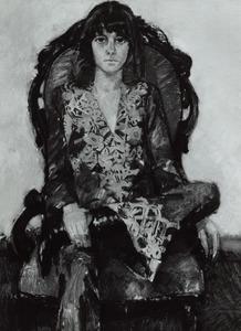 Portret van Anna Clara Joan Bijleveld (1944- )