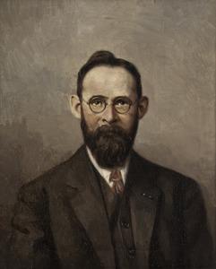 Portret van Willem Hendrik Drucker (1887-1933)