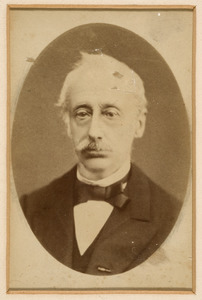 Portret van Laurens Philippe Charles van den Bergh (1805-1887)