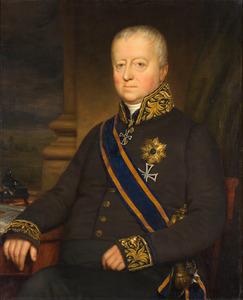 Portret van Willem Hendrik Alexander Carel Baron van Heeckeren van Kell (1774-1847)