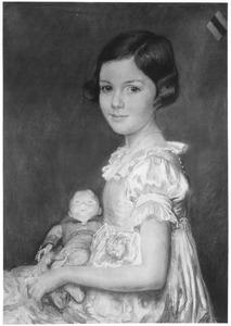 Portret van Ilona Ernestine Antoinette van Heerdt (1923- )