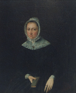 Portret van een vrouw, waarschijnlijk Grietjen Johanna Mollink (1812-1856)
