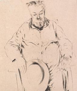 Portret van Valerius De Saedeleer (1867-1941)