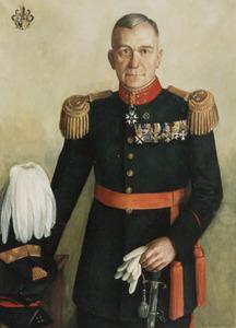 Portret van Hendrik Anton Cornelis Fabius (1878-1957)