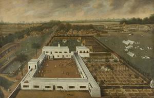 Hollandse plantage in Bengalen