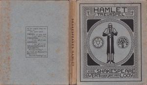 Voorplat voor Shakespeares 'Hamlet' (vert. Jac. van Looy), Amsterdam (S.L. van Looy)