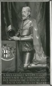 Portret van Karel Gerrit Willem baron van Wassenaer, heer van Hoekelom