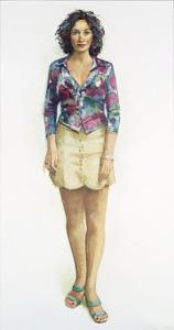 Portret van Tania van Raai