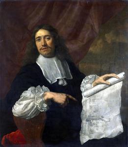 Portret van Willem van de Velde II (1633-1707)