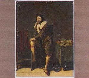 Portret van een man in een interieur