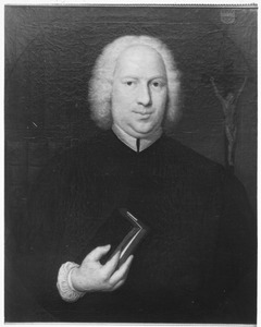Portret van Joannes Simon Hermanus Oem van Wijngaarden (1698-1771)