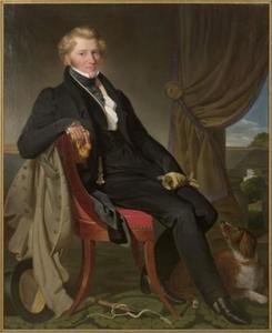Portret van Jan Beerents Wouters (1795-1873)