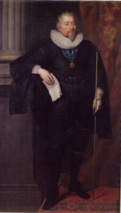 Portret van Richard Weston, 1st Earl of Portland (1577-1635)