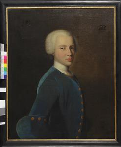 Portret van een man, waarschijnlijk Hans Willem van Aylva (1722-1751)