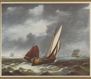 De Lemster beurtman en een ander beurtschip