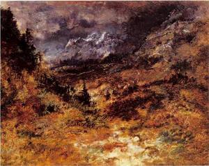 Gezicht op de Pyreneeën