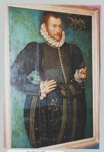 Portret van Ubbo van Aylva (1551-1617)