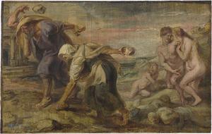 Deukalion en Pyrrha (Ovidius, Metamorfosen, I, 313-415)