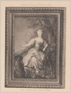 Portret van Maria Theresia van Habsburg (1717-1780)