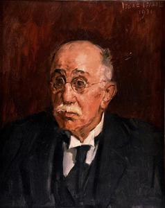 Portret van J.H. Haas