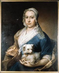 Portret van Agnetha van Reewijk (1696-1787)