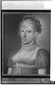Portret van Louisa Juliana Francisca Antoinetta van der Heyden (1798-1859)
