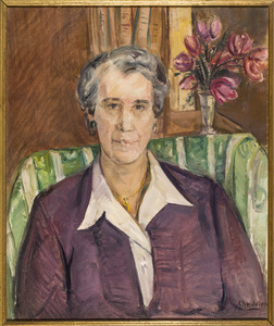 Portret van Mary Koomans (1891-1988)