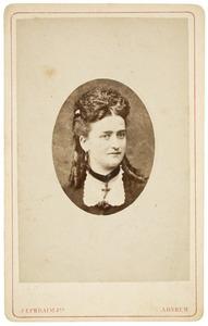 Portret van Mathilde Auguste Sophie Köhnen (1850-)