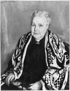 Portret van mevr. Th.J. Hintzen-s'Jacob (1861-1941)