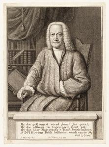 Portret van Frederik Duim (1674- )