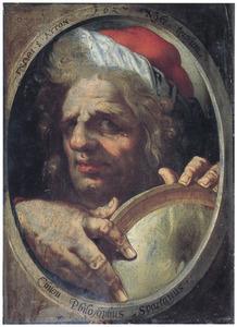 Portret van de Griekse filosoof Chilon