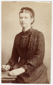 Portret van Maria Elisabeth Junius (1843-1921)