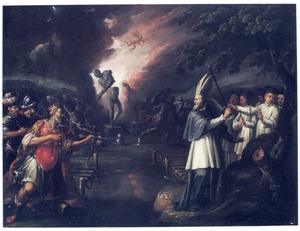 De overwinning van het Christendom over de heidenen