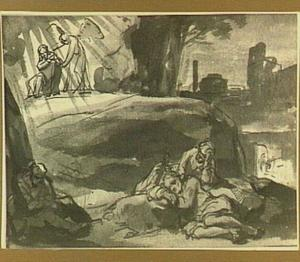Christus biddend in Gethsemane