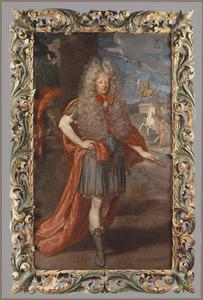 Portret van eenn man, mogelijk Maximilian II. Johann Franz Graf von Preysing-Hohenaschau (1643-1718)