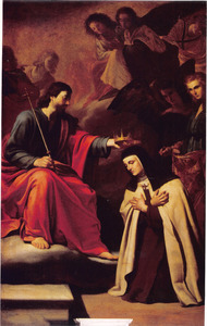 Christus en de H. Theresa