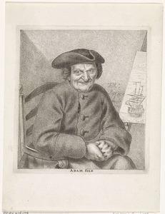 Portret van Adam Silo (1674-1760)