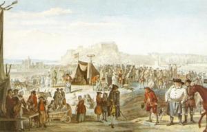 Paardenmarkt op Bruntsfield Links, Edinburgh